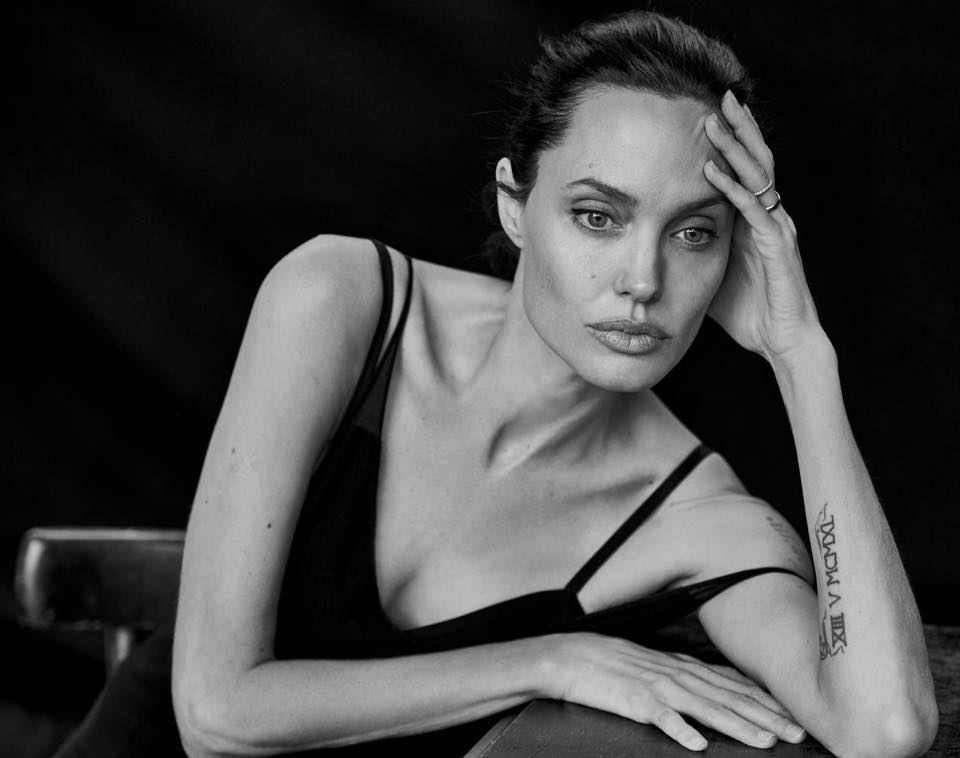 model - Angelina Jolie